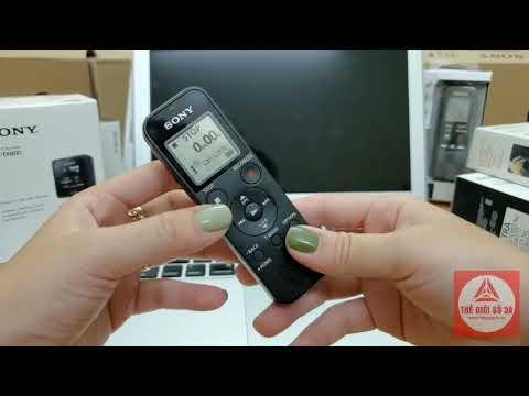 Hướng Dẫn Sử Dụng Máy Ghi Âm Sony ICD PX-470,tầm Giá 1300k-1500k