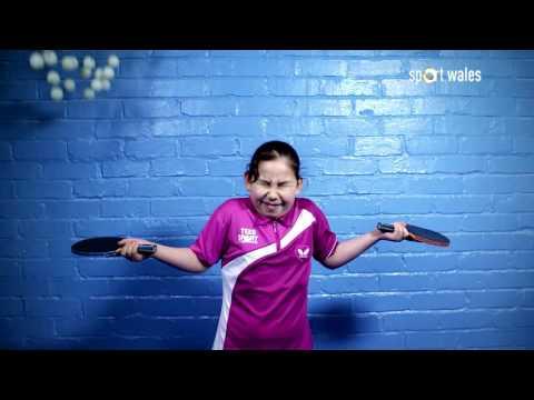 Anna Hursey Ping Pong Prodigy BBC 2 Sport Wales