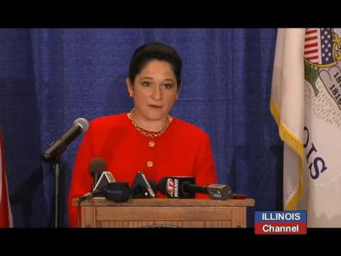 Comptroller Susana Mendoza (D) Inaugural
