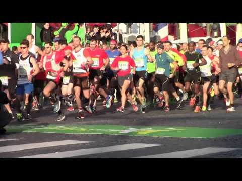 MARATHON DE PARIS 2016 HD