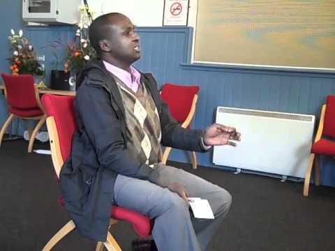 Abjata Khalif, journalist, development worker and peace activist