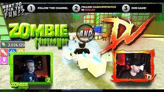(LIVE REPLAY) Zombie and DV in Roblox | Follow darkviprtwitch in Roblox to join game!
