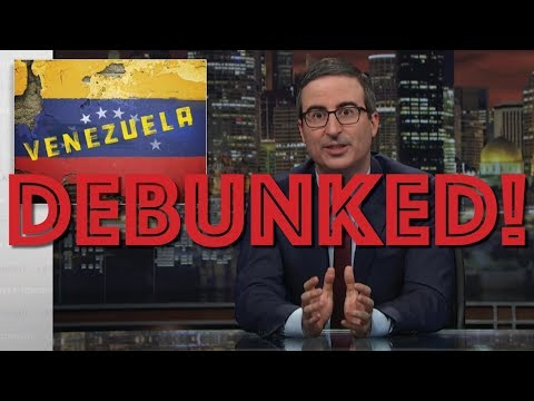Leftist Debunks John Oliver's Venezuela Episode