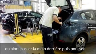 Tuto démontage pare-choc Ar Renault Megane 3 / disassembly rear bumper Renault Megane 3
