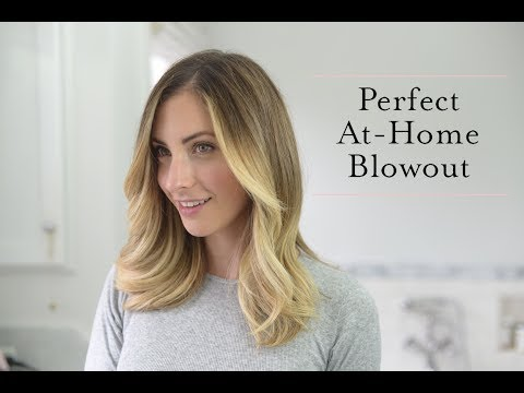 How to Give Yourself the Best At-Home Blowout