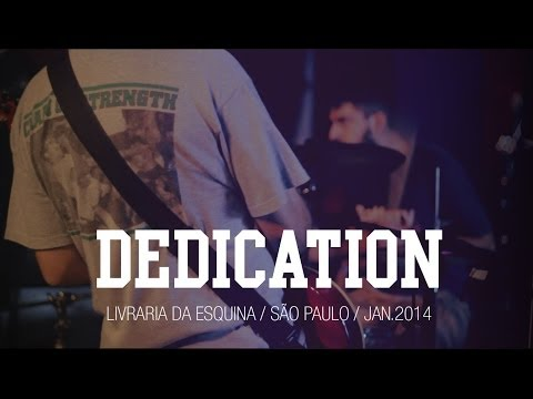 Dedication @ Livraria da Esquina (SP) | Jan.14