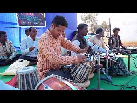 Sambalpuri bhajan ... Hey Madhaba Hari by Singer Gopal Bag at Marangola Mandir Pratistha