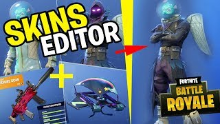 EDITOR OF ARMES AND SKINS on Fortnite: Battle Royale (CONCEPT)