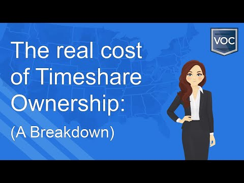 The Real Cost Of Timeshare Ownership: A Breakdown