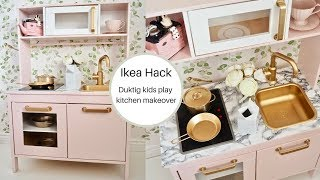 Ikea kids DUKTIG play kitchen makeover | Ikea Hack