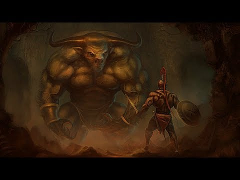 The Minotaur Explained - Greek Mythology