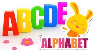 Comptines de l'Alphabet - Chanson alphabet (Maternelle) - ABCD