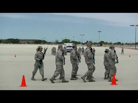 37th Training Group Drill Down Competition, 14 April 2018 (Part 3 of 5)