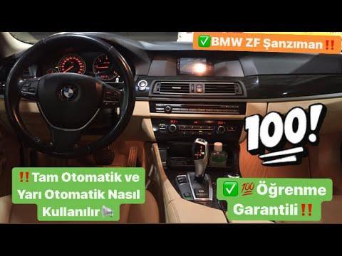 Otomatik Vites Araba Nasıl Kullanılır, Araba Kaçırmak isteyenlere özel! | BMW 5 SERI GT