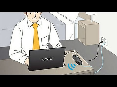 How to use the VGP-WAR100 Wireless Router
