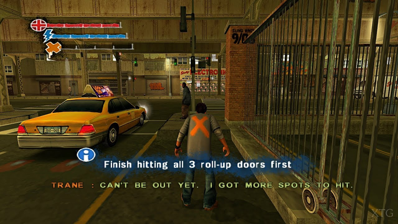 Marc Ecko's Getting Up: Contents Under Pressure PS2 Gameplay HD (PCSX2)