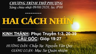 HTTL BẾN GỖ - Chương trình thờ phượng Chúa - 09/08/2020