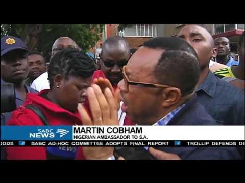 Nigerian Ambassador, Martin Cobham calls for calm on his countrymen