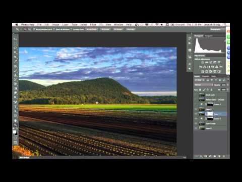 Landscape Editing and Enhancements with Photoshop CS6