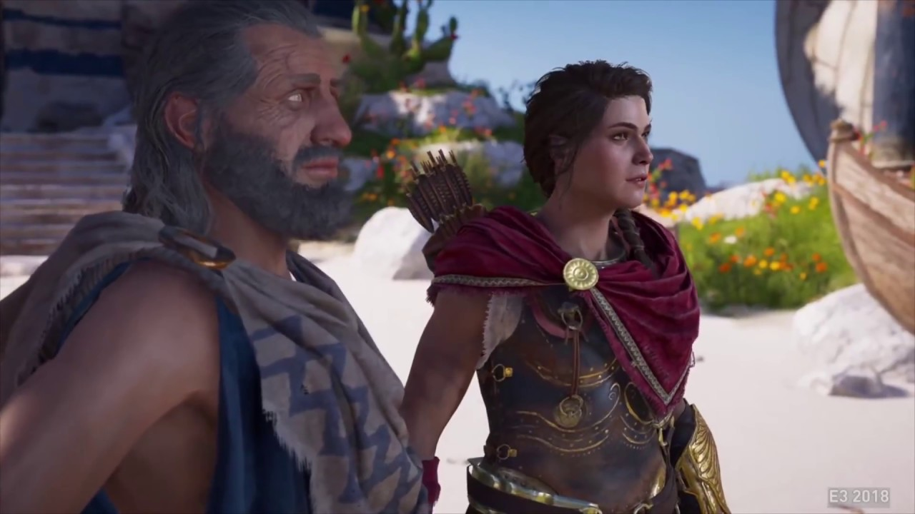 Assassins Creed Odyssey Odessa Romance (Kassandra) - YouTube