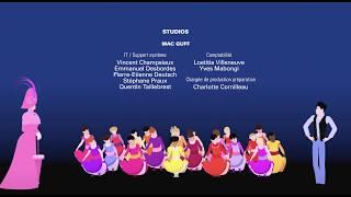 『ディリリとパリの時間旅行』エンディング映像