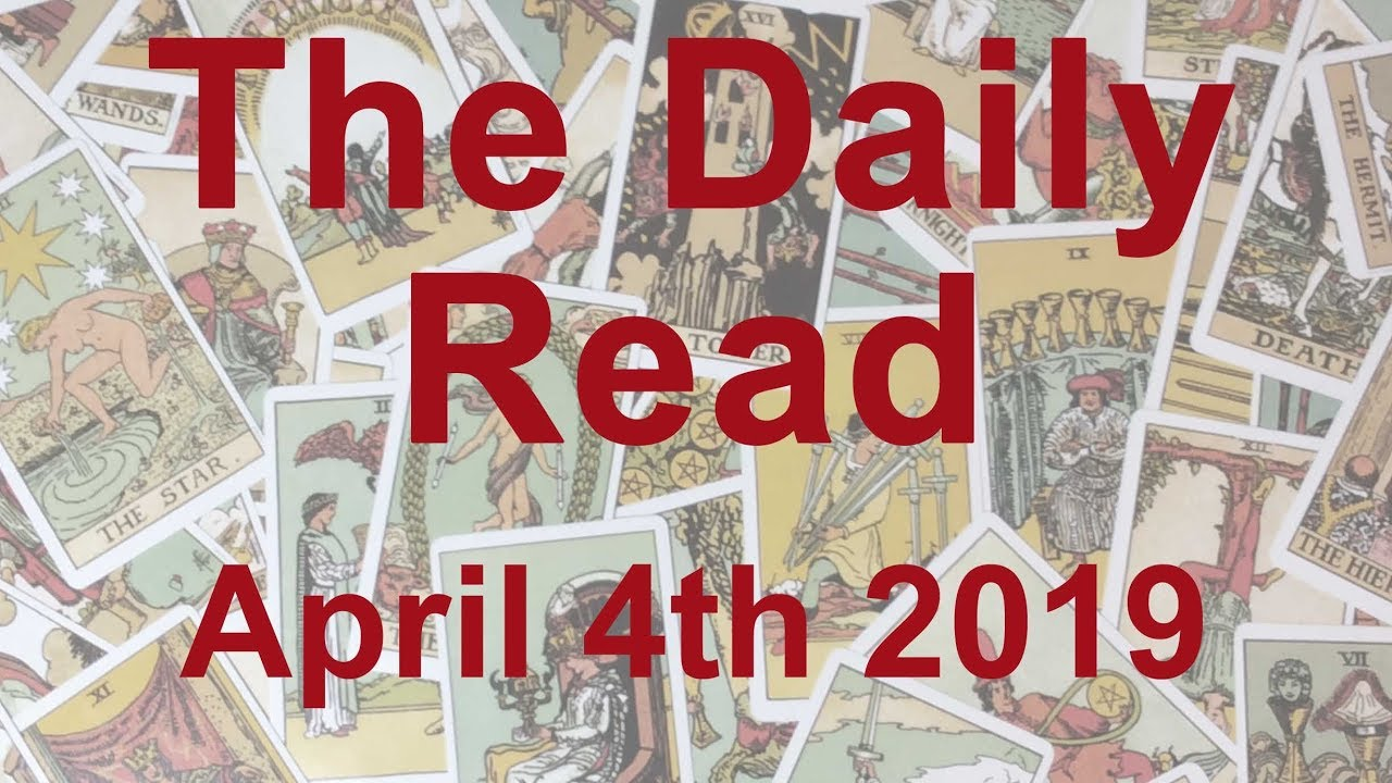 The Daily Read - April 4th 2019 - Judgement Day