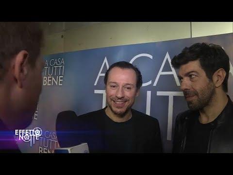 """Pierfrancesco Favino e Steo Accorsi raccontano il nuovo film  """"A casa tutti bene"""""""