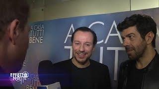 """Pierfrancesco Favino e Stefano Accorsi raccontano il nuovo film  """"A casa tutti bene"""""""