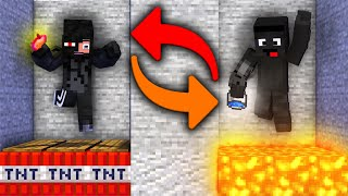 KUBIR vs TOBIASZ (minecraft death swap)