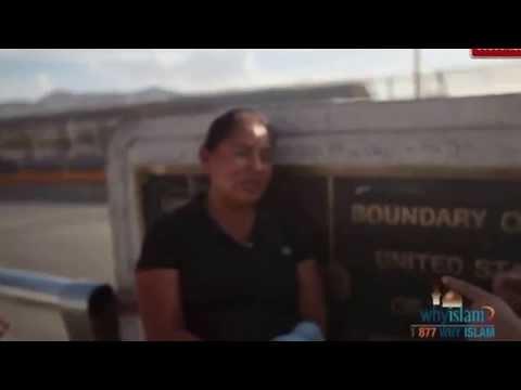 Lisa Vogl Hamid crosses the border to Mexico on #GlobalDawahDay