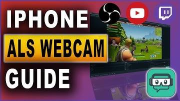 Handy als Webcam zum Streamen | iOS/iPhone/iPad in OBS Studio / Streamlabs OBS (2019)