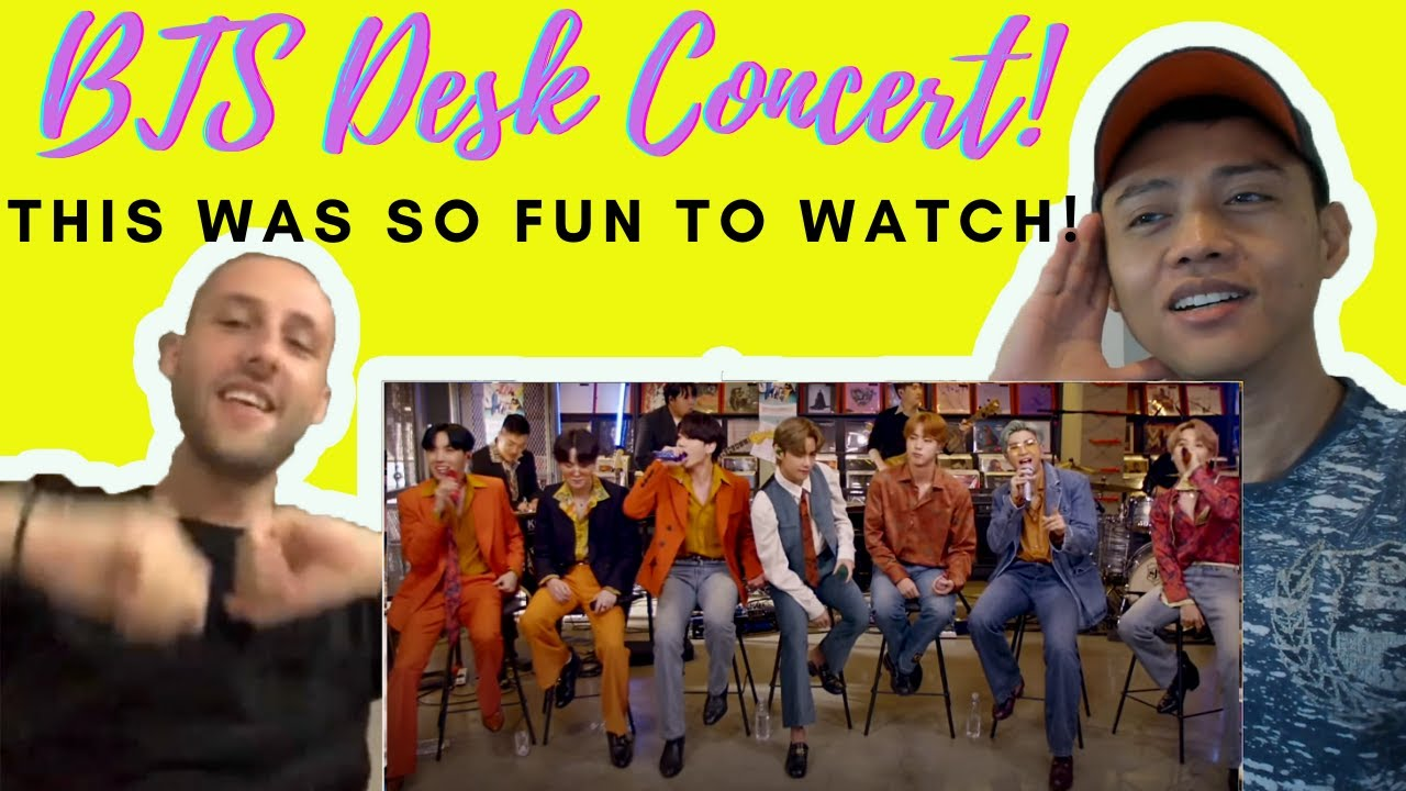 BTS (방탄소년단) - BTS Tiny Desk (Home) Concert | Reaction Video by Reactions Unlimited