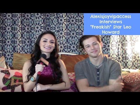 Leo Howard Talks About Freakish, Directing, And More - Interview With Alexisjoyvipaccess