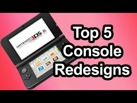 Top 5 - Console redesigns