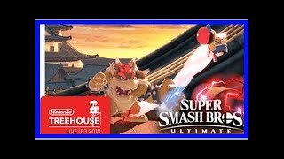 Breaking News | Super Smash Bros. Ultimate Gameplay Pt. 4 - Nintendo Treehouse: Live