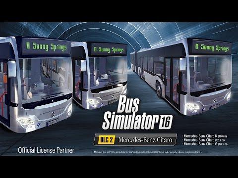Bus Simulator 16: Mercedes-Benz Citaro DLC (EN)