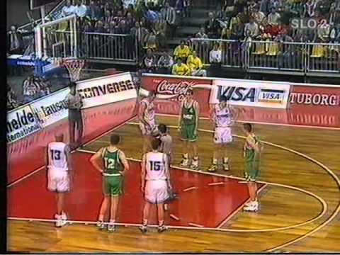 Smelt Olimpija - Taugres, 15.03.1994