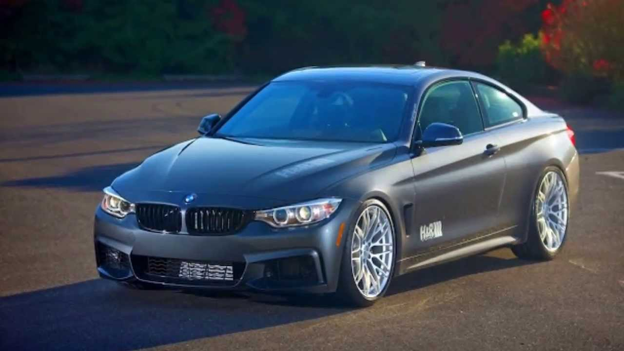 Hr Springs Bmw 428i M F32 Sport Coupe 2014 Aro 20 Youtube 2015 Gran Mineral Grey
