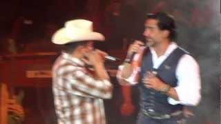 Mi gusto es...Alejandro Fernández y Julión Alvarez Fiestas de Octubre 2012