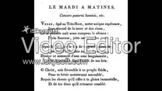 """Pronunciation of """"Cantique De Jean Racine"""""""