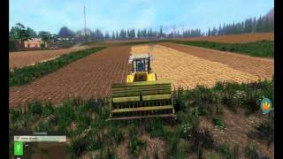 Symulator Farmy 2015 - Sianie i  Opryskiwanie