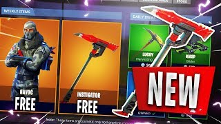 Get NEW FREE SKINS in Fortnite! Fortnite *EXCLUSIVE* Instigator Pickaxe (Fortnite FREE SKINS)