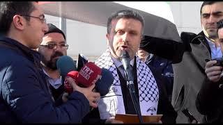 RAMAZAN GÜRGÖZE KUDÜS PROTESTOSU BASIN AÇIKLAMASI