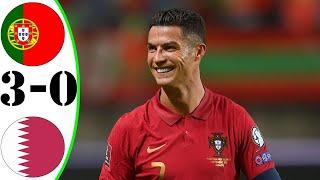 Португалия 3 0 Катар обзор матча Слова Роналду после победы над Катаром