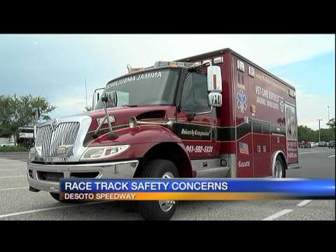 Race track safety concerns after fatal accident