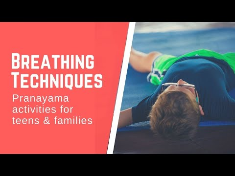 Calming Breathing Techniques for Teens & Families: A 40-Minute Guided Pranayama Session with Laura