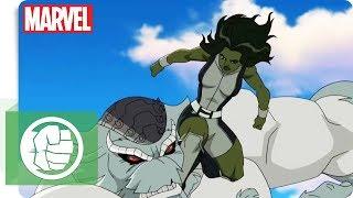 Hulk und das Team S.M.A.S.H. - Ringkampf | NEU auf Marvel HQ Deutschland