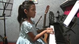 The Spanish Guitar (Piano) - Lintang Thalita (7 year old), Indonesia