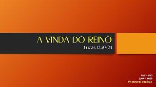 IP Central de Itapeva - LIVE - Pastor Marcelo Vinicius - 21/09/2020