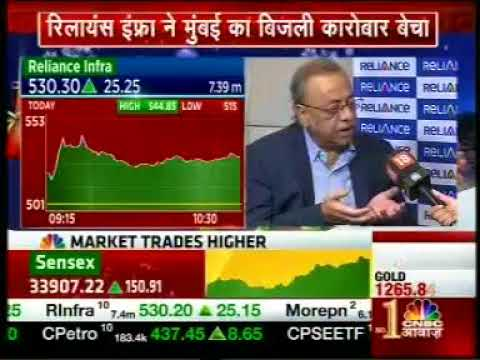 RInfra CEO Lalit Jalan's interview telecast by CNBC Awaaz on 22.12.2017 at 10.39 AM